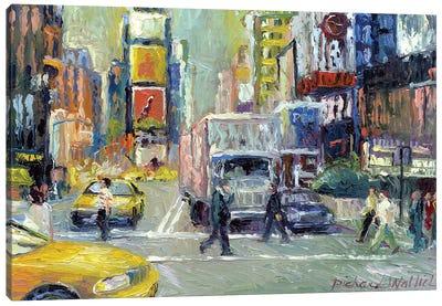 Times Square Canvas Print #RWA181