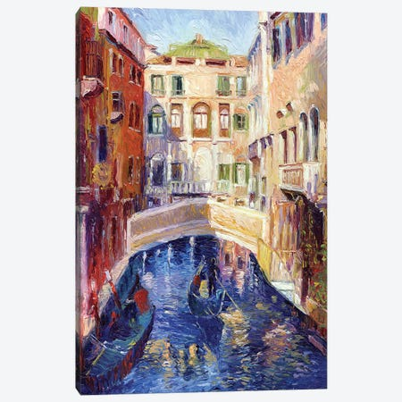 Venice Canvas Print #RWA184} by Richard Wallich Canvas Artwork