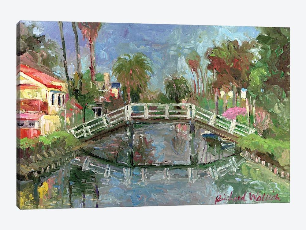 Venice, CA by Richard Wallich 1-piece Canvas Art