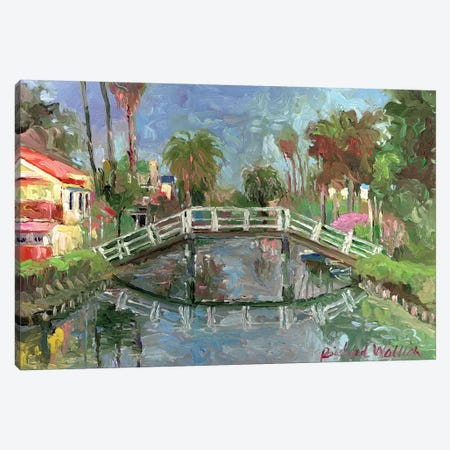Venice, CA Canvas Print #RWA186} by Richard Wallich Canvas Artwork