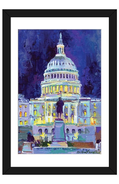 Washington, D.C. Framed Art Print
