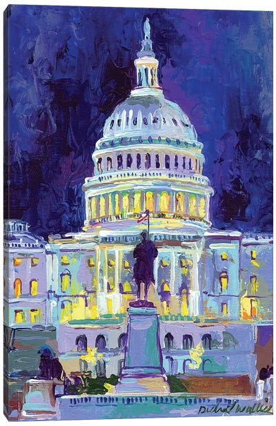 Washington, D.C. Canvas Art Print