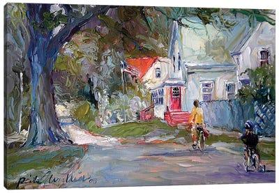 A Summer Ride Canvas Print #RWA198