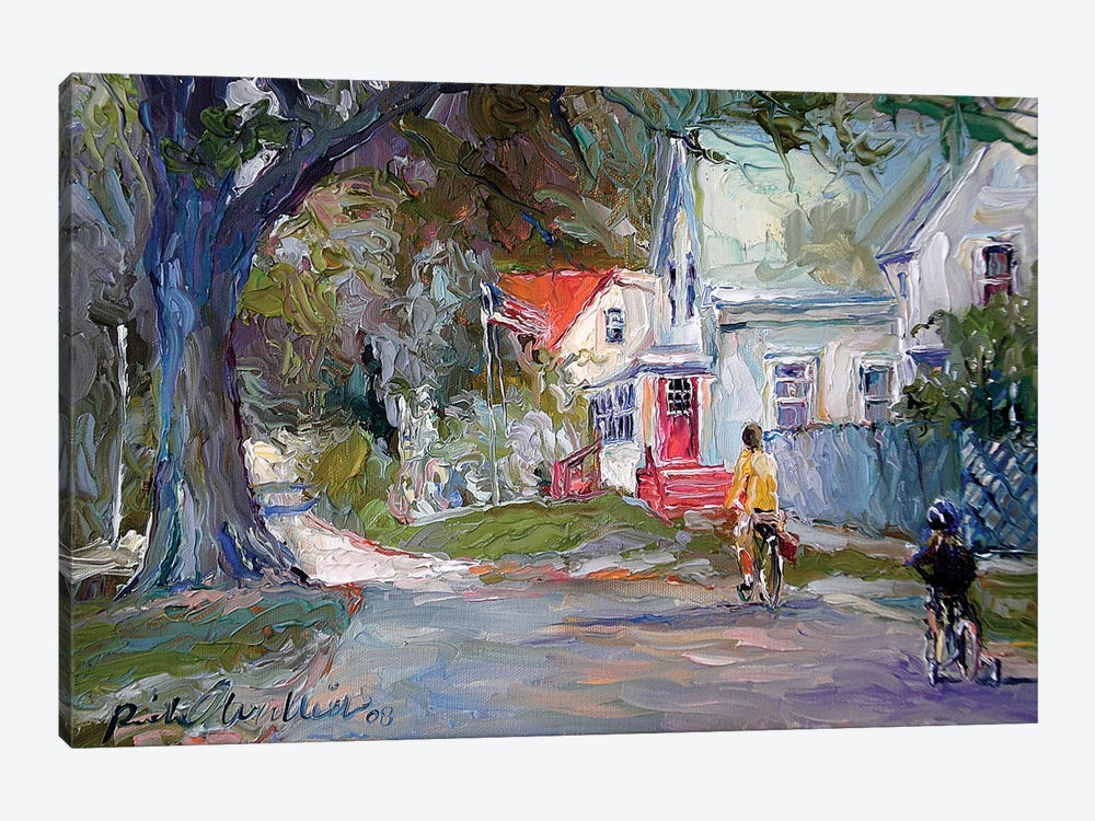 A Summer Ride by Richard Wallich 1-piece Canvas Art Print