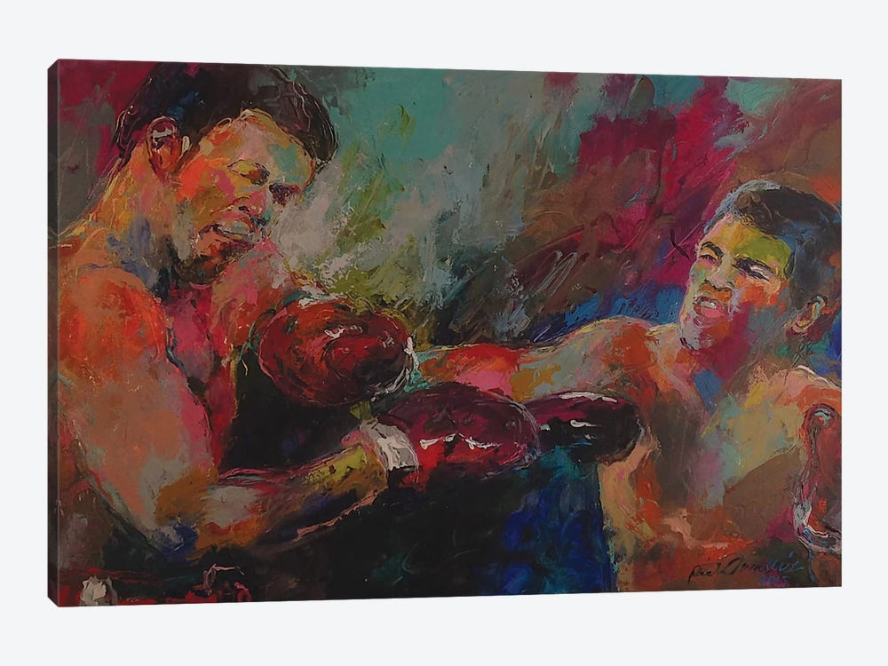 Ali by Richard Wallich 1-piece Canvas Print