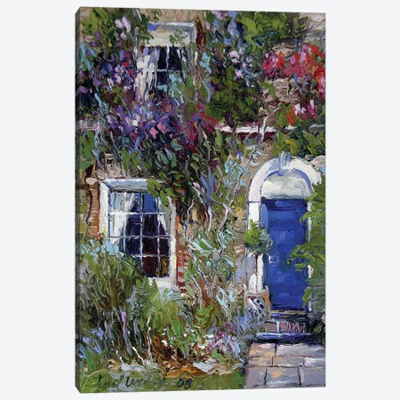 Blue II Canvas Print #RWA201} by Richard Wallich Canvas Art