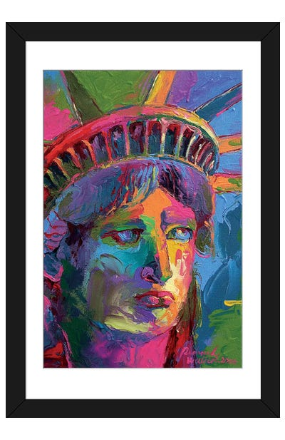 Lady Liberty II Framed Art Print