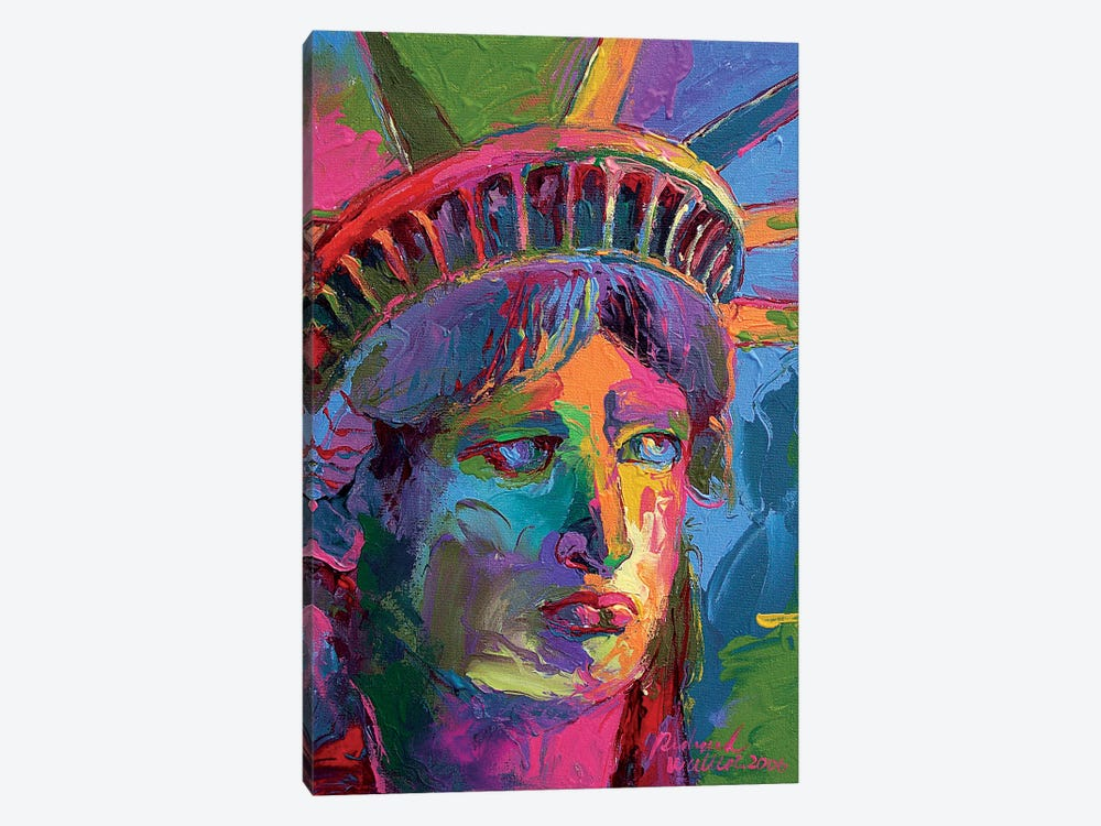 Lady Liberty II by Richard Wallich 1-piece Canvas Art