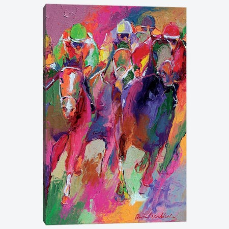 Race V Canvas Print #RWA272} by Richard Wallich Art Print