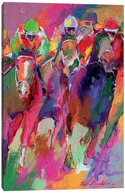 Race V Canvas Art Print