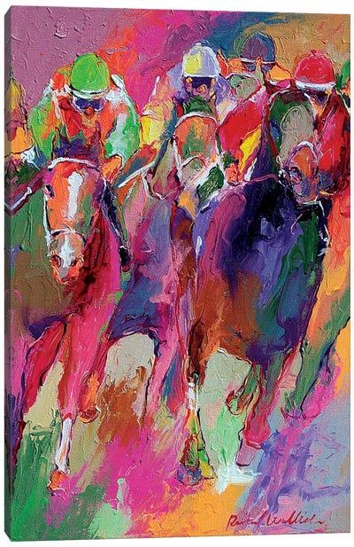Race V Canvas Art Print