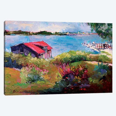 Reservoir Canvas Print #RWA274} by Richard Wallich Canvas Artwork