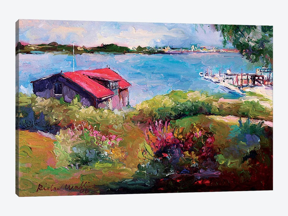 Reservoir by Richard Wallich 1-piece Canvas Print