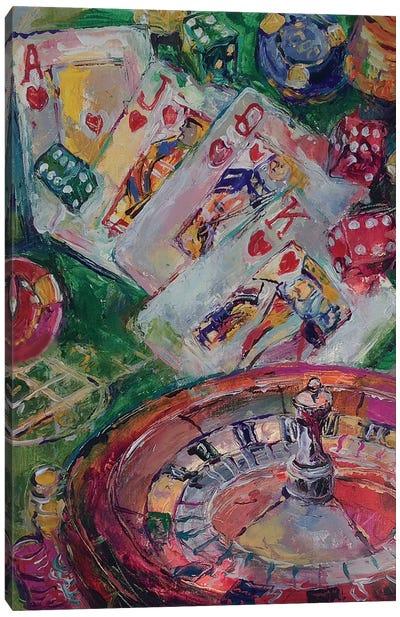 Casino Art Canvas Print #RWA27