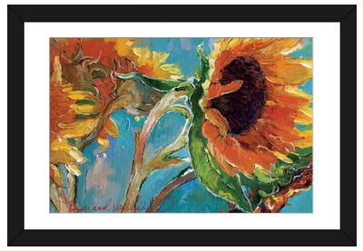 Sunflowers V Framed Art Print