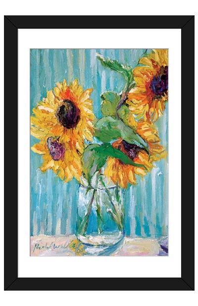 Sunflowers II Framed Art Print