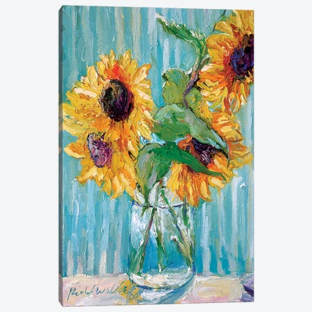 Sunflowers II Canvas Print #RWA284} by Richard Wallich Canvas Print