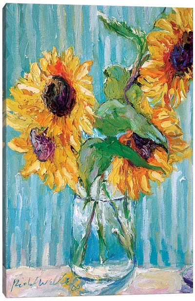 Sunflowers II Canvas Art Print