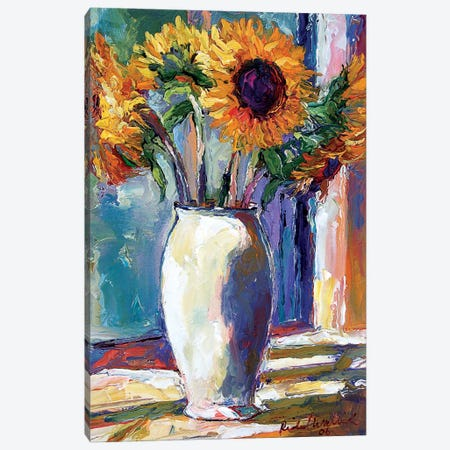 Sunny 3-Piece Canvas #RWA286} by Richard Wallich Canvas Art Print