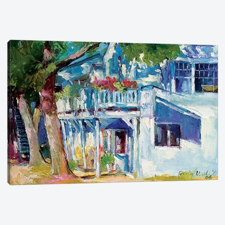White House Canvas Print #RWA298} by Richard Wallich Art Print