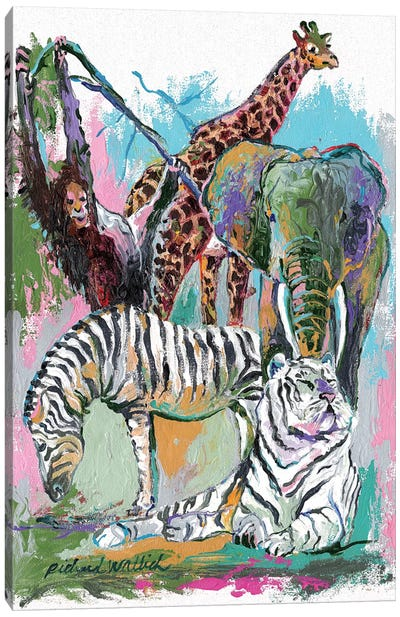Animals Canvas Art Print