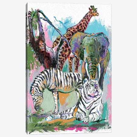 Animals Canvas Print #RWA2} by Richard Wallich Canvas Print