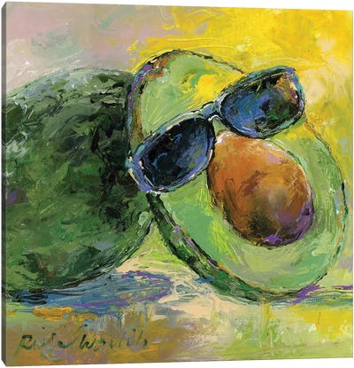 Art Avocado Canvas Art Print