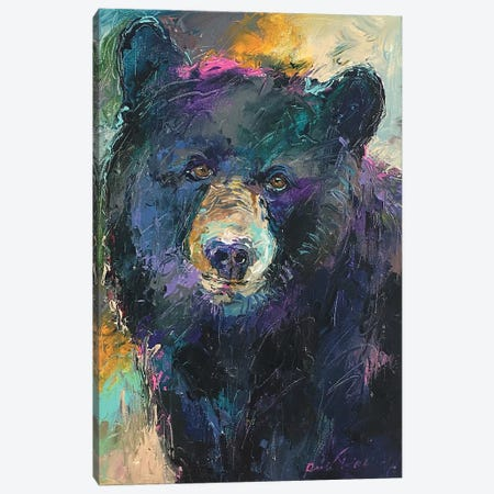 Art Bear Canvas Print #RWA304} by Richard Wallich Canvas Art