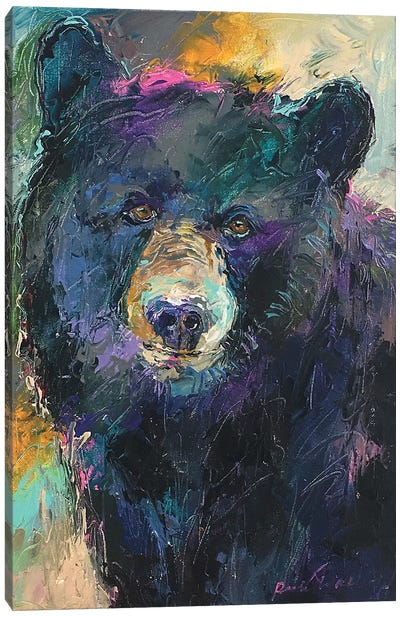 Art Bear Canvas Art Print
