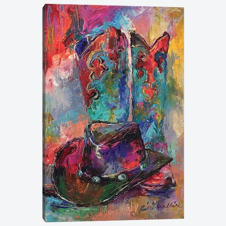 Art Boots Canvas Print #RWA306} by Richard Wallich Canvas Artwork