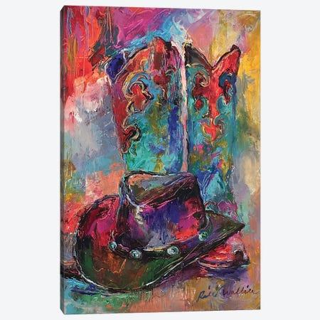 Art Boots Canvas Print #RWA306} by Richard Wallich Canvas Artwork