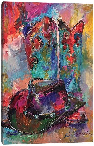 Art Boots Canvas Art Print