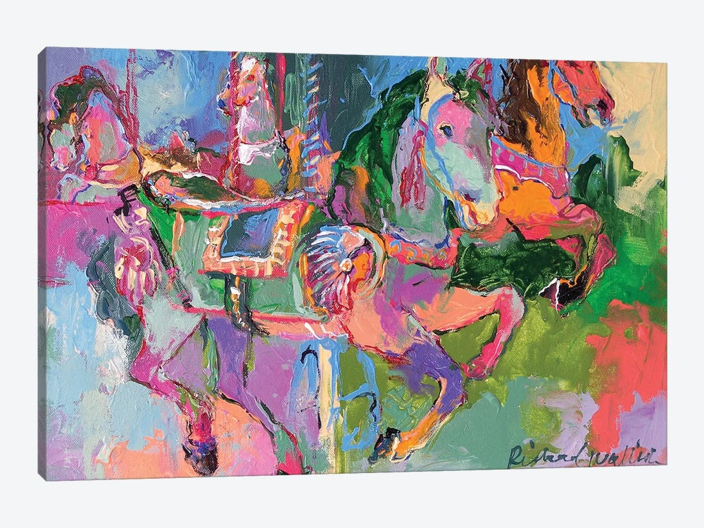 Art Car III by Richard Wallich 1-piece Canvas Art