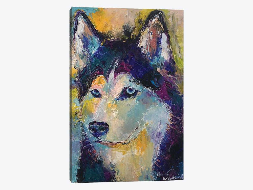 Art Husky by Richard Wallich 1-piece Canvas Wall Art