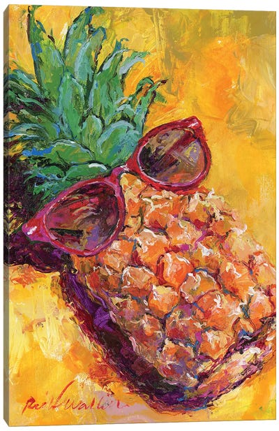 Art Pineapple Canvas Art Print