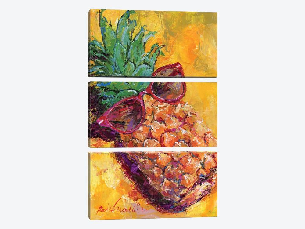Art Pineapple by Richard Wallich 3-piece Art Print