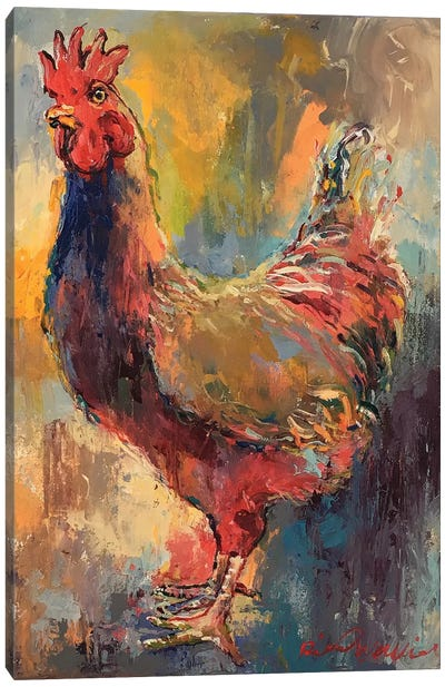 Art Rooster I Canvas Art Print