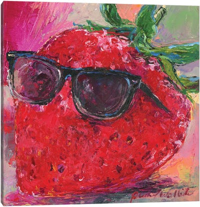 Art Strawberry Canvas Art Print