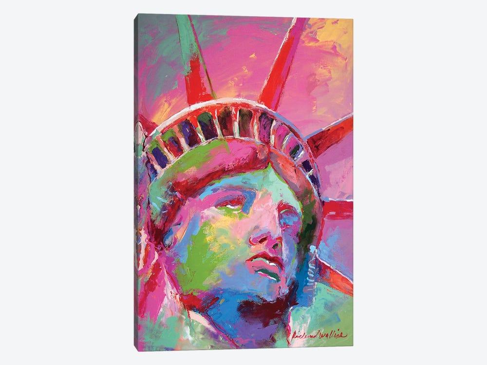 Lady Liberty by Richard Wallich 1-piece Canvas Wall Art