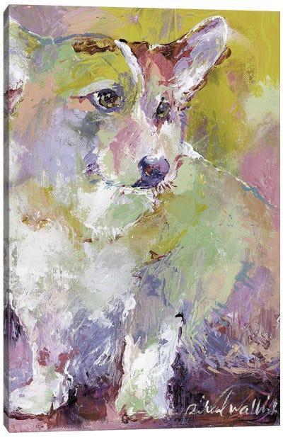 Corgi Canvas Art Print