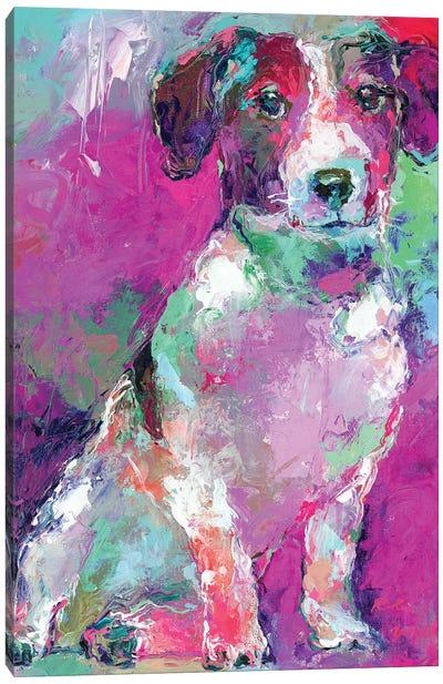 Russell Terrier Canvas Art Print