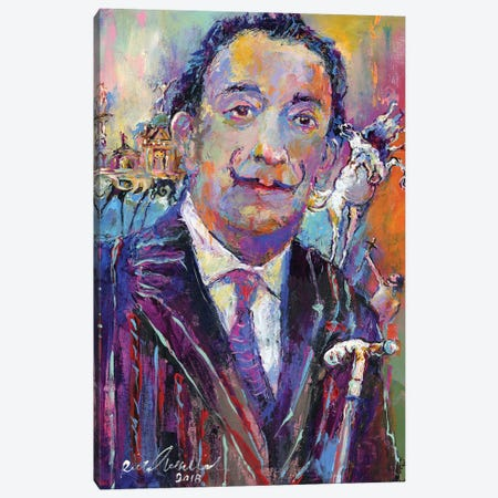 Dali Canvas Print #RWA329} by Richard Wallich Art Print