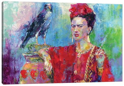 Frida Bird Canvas Art Print