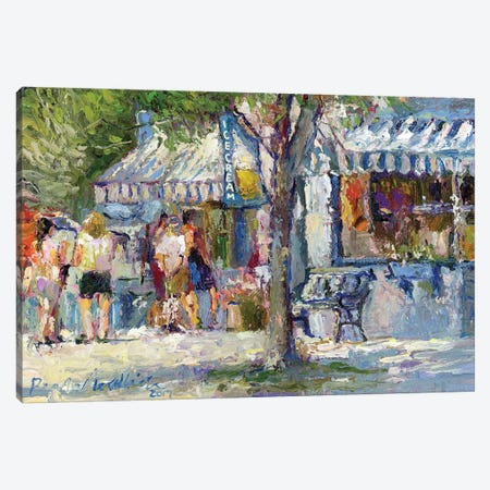 Ice Cream Canvas Print #RWA332} by Richard Wallich Canvas Art