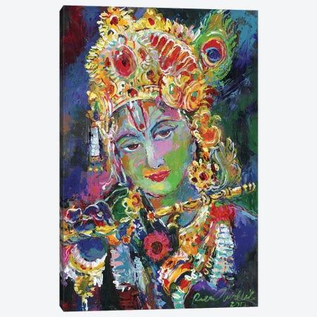 Krishna Canvas Print #RWA335} by Richard Wallich Canvas Art Print