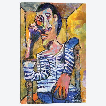 Picasso Canvas Print #RWA336} by Richard Wallich Canvas Art Print