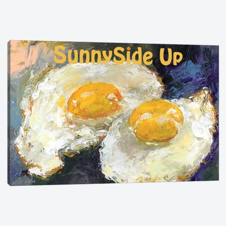 SunnySide Up Canvas Print #RWA337} by Richard Wallich Canvas Art Print