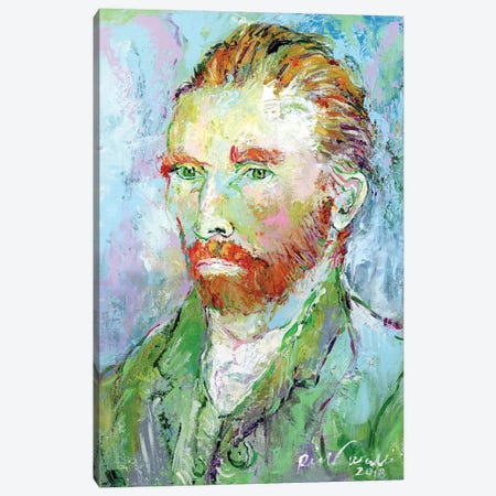 Van Gogh Canvas Print #RWA338} by Richard Wallich Canvas Wall Art
