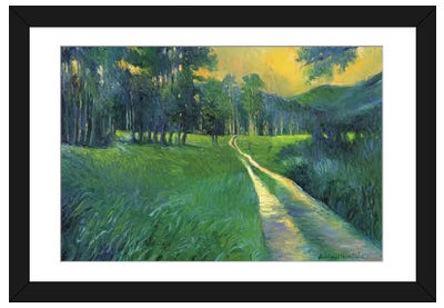 Crestone Path Framed Art Print