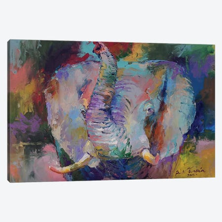 Elephant II Canvas Print #RWA45} by Richard Wallich Canvas Print